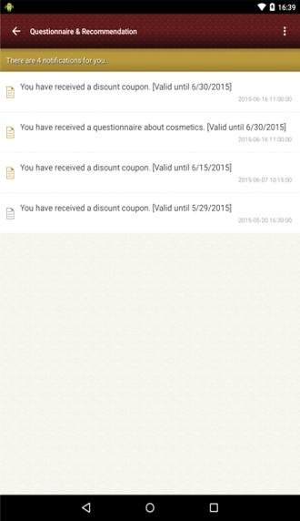 Questionnaire & Recommendation